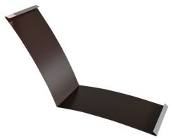 Планка ендовы нижняя 298*298, полиэстер