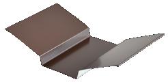 Планка ендовы верхняя 76*76, полиэстер