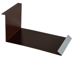 Планка примыкания нижняя 250*122, полиэстер