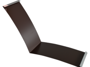 Планка ендовы нижняя п/э 298*298 м