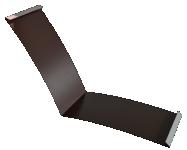 Планка ендовы нижняя 298*298, полиэстер в Ачинске