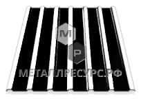 Профнастил С10 п/э 0.40 мм Винно-красный в Ачинске