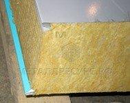 Стеновая сэндвич-панель с базальтовым наполнением 50 мм Светлая слоновая кость в Ачинске