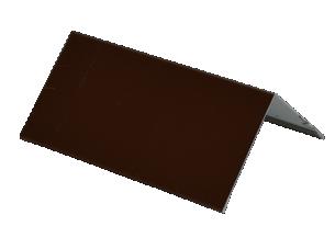 Планка угла наружного п/э 50*50мм Слоновая кость
