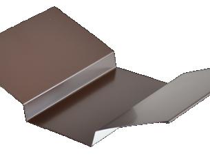 Планка ендовы верхняя п/э 76*76 м