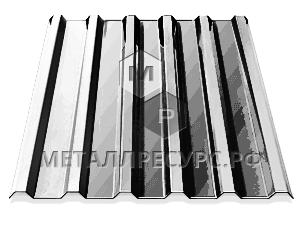 Профнастил МП20 окрашенный для фасада 0.40 мм Слоновая кость